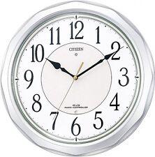 New CITIZEN Radio Waves Wall Clock Ne Murrina Sunny 4MY642-019 from Japan