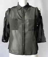 Adidas Neo Selena Gomez Sommer Bluson Bluse Shirt Schwarz Neu Gr.M