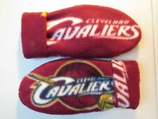 CLEVELAND CAVALIERS womens FLEECE MITTENS HANDCRAFTED NBA gloves BELIEVELAND