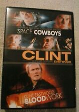 Space Cowboys / Blood Work (DVD, 2 x film set) Brand new not sealed.