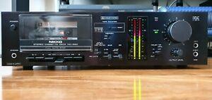 Nikko Stereo Cassette Deck ND-590 *PLEASE READ DESCRIPTION*