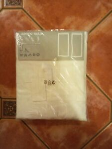 """IKEA Semi-Sheer Curtains """"ARDEN TRAD"""" 145 x 300 BRODERIE ANGLAISE Style - BNWT"""