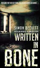 Written In Bone by Simon Beckett (Paperback) NEW BOOK