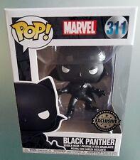 Black Panter Exclusive Funko Pop Figure Pop Marvel