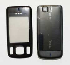 black cell Housing Cover Case Fascia skin Faceplate for Nokia 6600s black