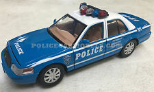 Motormax 1/24 NYC Style Police Ford Crown Victoria - BLUE