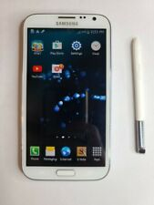 Samsung Galaxy Note II SGH-I317 - 16GB - USED Marble White AT&TSee Description