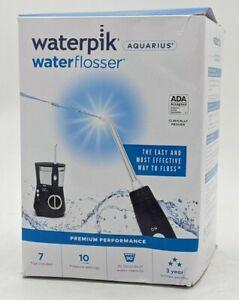 Waterpik WP-663CD Aquarius Water Flosser - Blue -NR4432