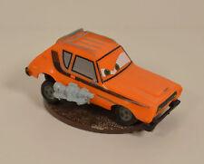 "2.5"" Grem the Orange Gremlin PVC Plastic Car on Stand Disney Pixar Cars 2"