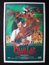PHAR LAP 1983 Original Australian movie poster Tom Burlinson horse racing