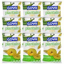 Goya Foods Plantain Chips, Original Lightly Salted, 5 Oz Bags (9 Pack)