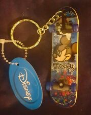 Disney Mickey D Skateboard Key Ring