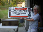 Vintage+MARINER+OUTBOARDS+Motor+FACTORY+AUTHORIZED+SERVICE+TIN+SIGN+32%22+x+15%22