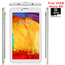 "7.0"" Android 9.0 Tablet PC HDMI Google Play Leather Back Dual Camera BONUS 32GB"