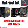 PC Bundle Kit Set ❤ AMD Ryzen 5 3600 ✔ MSI B450 M Mainboard ✔ ≈ 2700