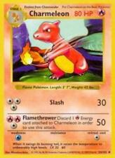 1x - Charmeleon - 24/102 - Uncommon - Shadowless Edition LP Pokemon Base Set