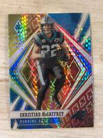 Christian McCaffrey 2020 Panini Phoenix FIRE BURST Fanatics Carolina Panthers 68