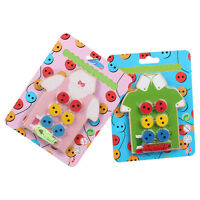 Threading Button Beads Lacing Board For Children Kids Students Educational Toys