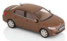Peugeot 301 Berlina 2012-17 Marrone Brun metallico Rich rovere 1 43 Norev