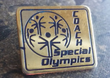 Special Olympics Coach lapel pin pre-owned