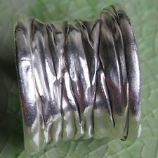 Silver Size. Us=8,Uk=P Adjustable Handmade Thai Karen Hill Tribe