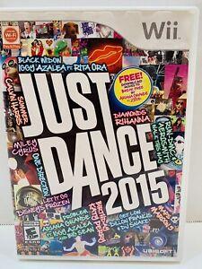 Just Dance 2015 (Nintendo Wii, 2014)