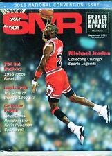 New listing SEPT 2015 MICHAEL JORDAN COVER SMR PSA SPORTS MARKET REPORT PRICE GUIDE  MINT