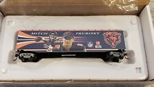 RARE Chicago Bears HO Train Car MITCH TRUBISKY Hawthorne Village New BRAND NEW