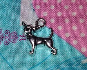 Pendant Chihuahua Charm Dog Charm Veterinarian Chihuahua Dog Charm