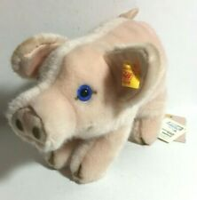 """New With All Tags-Steiff-Mopsy-Piglet-072352-8"""" long-Made in Germany-Very Cute"""