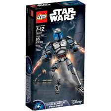 Lego Star Wars 75107 JANGO FETT Minifigs Jedi dark side figure NISB