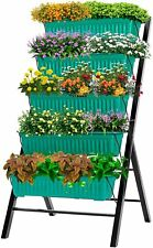 Vivosun 4Ft Vertical Raised Garden Bed Patio Plant Stand Elevated Vegetables