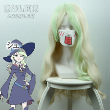 60CM Anime Little Witch Academia Diana Cavendish Cosplay Wig COS-435A