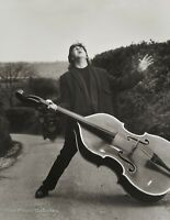 1989 Vintage PAUL McCARTNEY Beatles By HERB RITTS Music Big Bass Photo Art 16x20