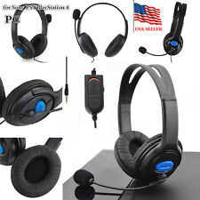 New Wired Gaming Headset Headphones with Microphone For Sony PS4 PlayStation4 PC