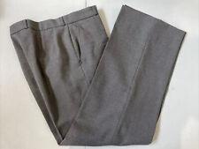 Yves Saint Laurent Men's Gray Solid Dress Pants 34X32 $295