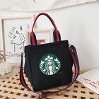 NEW Starbucks Women Fashion Bags Lady Leisure Handbag School Messenger Bag Black