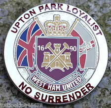 UPTON PARK LOYALIST HAMMERS ICF BADGE WEST HAM UTD UNITED CASUALS FIRM PIN UVF