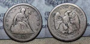 1875 S Twenty Cent Piece 20c