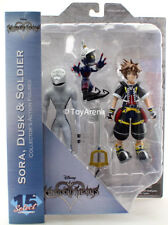 Kingdom Hearts Select Sora, Dusk, and Soldier Action Figure Set Diamond IN STOCK