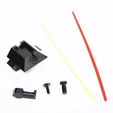AS796u Airsoft Toy PPS Glow Fiber Optic Front & Rear Sight For Marui 17 G17