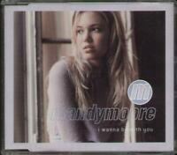 MANDY MOORE I Wanna Be With You  CD 4 Tracks, Orig Version/Soul Solution Remix R