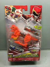 Power Rangers Dino charge morpher booster power pack - No's 3 & 17 + zord holder