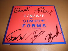 THE NAKED AND FAMOUS rare SIGNED new album CD simple forms TNAF entire band