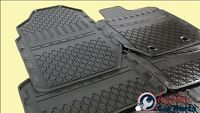 Floor Mats Rubber Front & Rear set New for Ford Ranger  2011-2017 Super cab