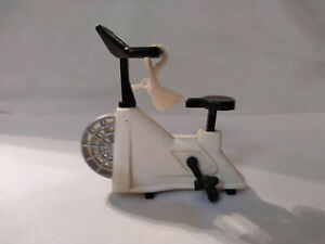 Vintage ACME Exercise Bike Magnet w/ Moving Pedals Miniature