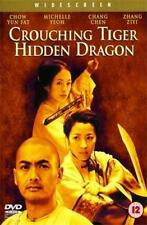 CROUCHING TIGER HIDDEN DRAGON Ang Lee*Chow Yun-Fat Martial Arts Epic DVD *EXC*