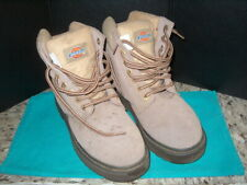 """Dickies Size 7M Us Steel Toe Boots """"Leather"""" Pre-Owned Gently Used Ankle Boots"""