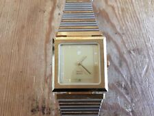 New - Vintage Watch PIERRE CARDIN Reloj - It Works Funciona - Case 2,5 x 2,5 cm