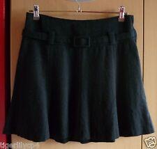 Korte zwarte rok met A-lijn van H&M Maat 36
